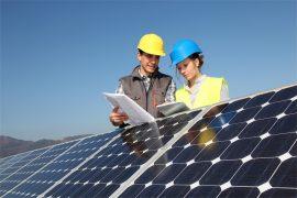 Projekt Solarmstrompark Berliner Schulen