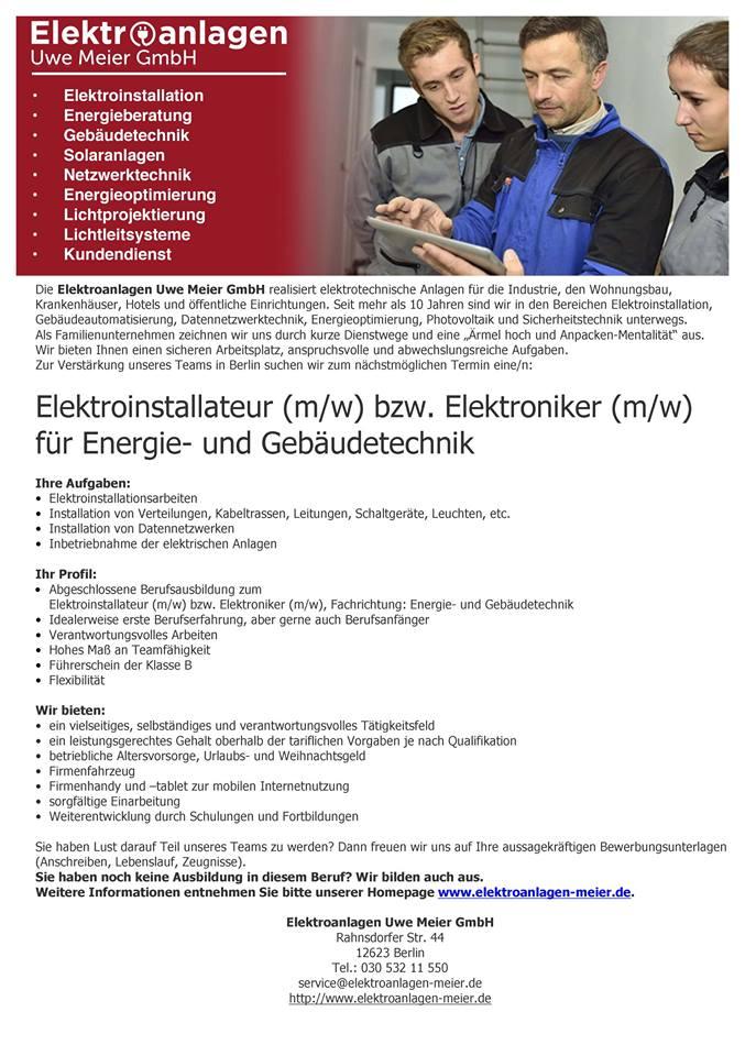 Kundendienst elektriker gehalt